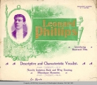 Leonard Phillips flyer, n.d.