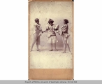 Three women in costume, n.d.