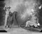 Effie Norris and Howard Shipman, studio portrait, n.d.