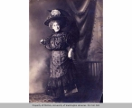 Effie May Norris with parasol,  n.d.