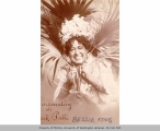 Bessie King as the Black Patti, publicity postcard , n.d.