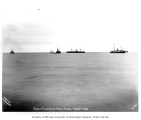 Ships anchored off Nome, October 1905