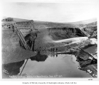 Hydraulic mining operation operated by the Miocene Ditch Co., Nome, September 27, 1905