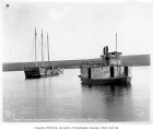 Steamer KOTZEBUE and sailing vessel, n.d.