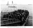Lightering passengers from steamship VICTORIA, probably Nome, July 2, 1907