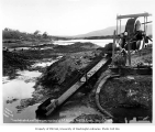 Mining operation, Glacier Creek, July 14, 1906