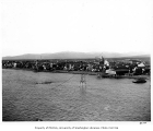 Panorama of Nome, first of five photographs in series, starting with left side, October 10, 1908