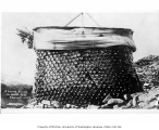 House made of bottles, White Pass summit, 1898