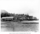 Gorman and Co. cannery and sawmill, Kasaan, 1908