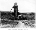Hydraulic mining operation, K.M. & D. Co., Kougarak River, ca. 1905