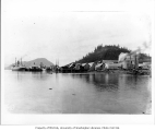 Fort Wrangell viewed from the water, Alaska, ca. 1905
