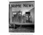 Nome News office, Nome, 1904