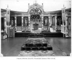Interior of the Russian Orthodox Cathedral of Saint Michael, Sitka, 1909