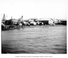 Beach showing businesses, Nome, ca. 1904