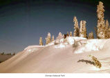 Hurricane Ridge cornices with Jack Hughes skiing, Olympic National Park, date unknown