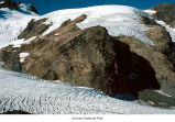 Blue Glacier with a view of the Snow Dome, Olympic National Park, August, ca. 1992