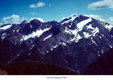 Mount Carrie from head of Sol Duc, High Divide, Olympic National Park, date unknown