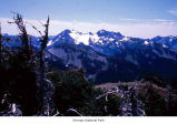 Mount Anderson seen from Mount Fromme, Olympic National Park, date unknown