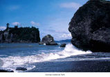 Abbey Island seen from Ruby Beach, Olympic National Park, date unknown