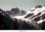 Blue Glacier and Mount Olympus seen from Mount Tom ridgeline, Olympic National Park, date unknown