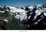 Carrie Glacier and Mount Carrie, Olympic National Park, date unknown