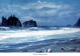 Second Beach, Olympic National Park, date unknown