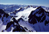 Mount Christie, aerial view, Olympic National Park, date unknown
