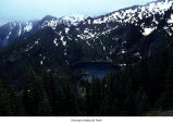 Boulder Lake seen from Happy Lake Ridge, Olympic National Park, date unknown