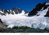 Blue Glacier and Mount Olympus, Olympic National Park, date unknown