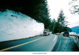 Highway bordering Lake Crescent, Olympic National Park, 1997