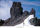 Basalt pinnacles on Mount Deception, Olympic National Park, date unknown