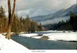 Hoh River after a snow, Olympic National Park, date unknown
