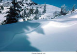 Hurricane Hill snow cornice, Olympic National Park, date unknown