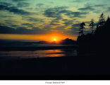 Kalaloch sunset, Olympic National Park, date unknown