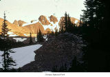 Peaks near Cameron Basin, Olympic National Park, date unknown