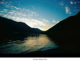 Lake Crescent sunset, Olympic National Park, date unknown