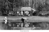 Cabin at Fairholme Campground on Lake Crescent, Clallam County, date unknown