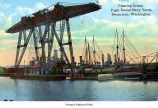 Puget Sound Navy Yard floating crane, Bremerton, date unknown