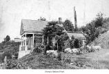 House exterior on a hill, Queen Anne neighborhood of Seattle, date unknown