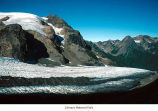 Blue Glacier with a view of Snow Dome, Olympic National Park, August, ca. 1992