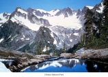 Mount Olympus and Cream Lake, Olympic National Park, date unknown