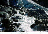 Blue Glacier stream melt, Olympic National Park, date unknown