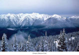 Bailey Range in winter, Olympic National Park, date unknown