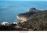 Jefferson Cove and Hoh Head, aerial view, Olympic National Park, date unknown