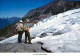 Researchers at a glacier, Olympic National Park, date unknown