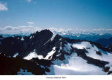 Mount Olympus West peak seen from Mount Anderson, Olympic National Park, date unknown