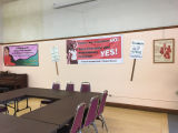 Meeting area at Office of Radical Women (New Freeway Hall), Seattle, Washington