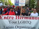 Entre Hermanos Participation in May Day Event, Seattle