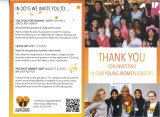 Young Women Empowered Brochure. Future Events