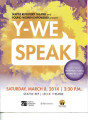 Young Women Empowered Y-WE Speak Pamphlet